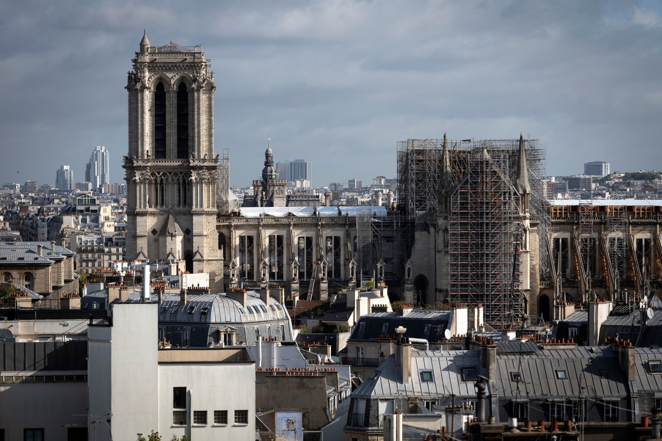 Reconstruction of France's Notre-Dame to begin early 2021: Archbishop