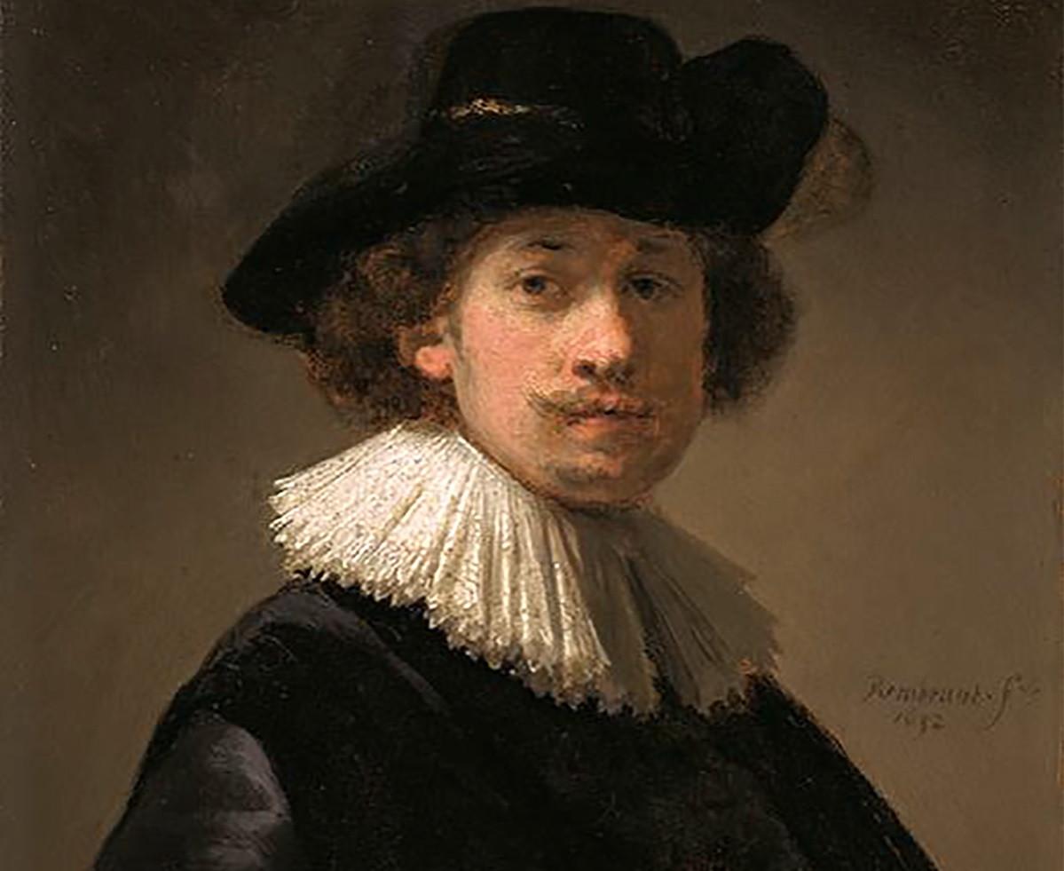 Rare Rembrandt self-portrait to go on sale in London