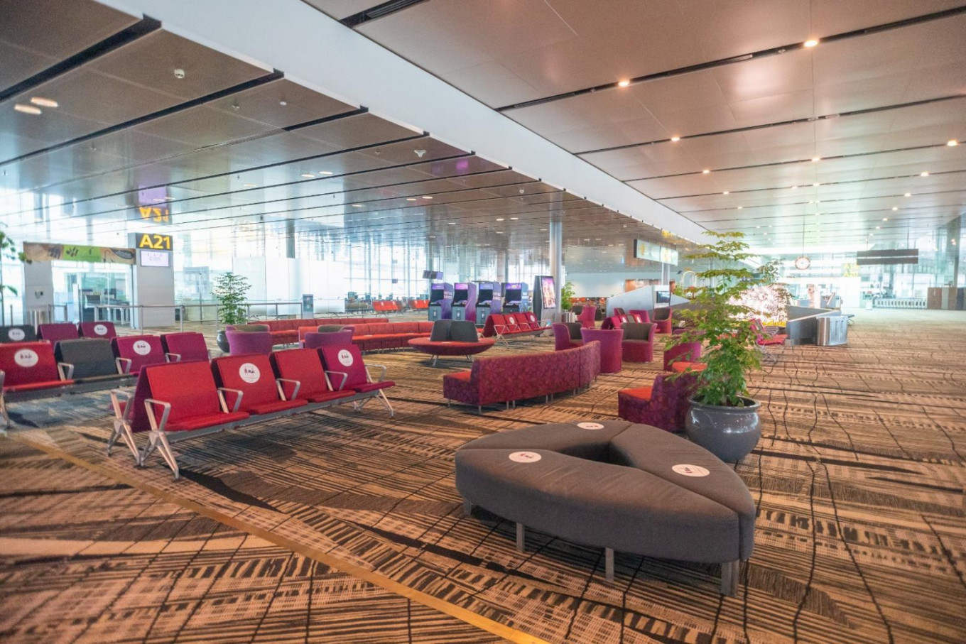 Changi Airport sets up new transit holding area
