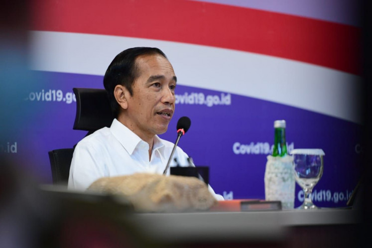 Jokowi asks for prioritization of state spending on domestic products in Q3