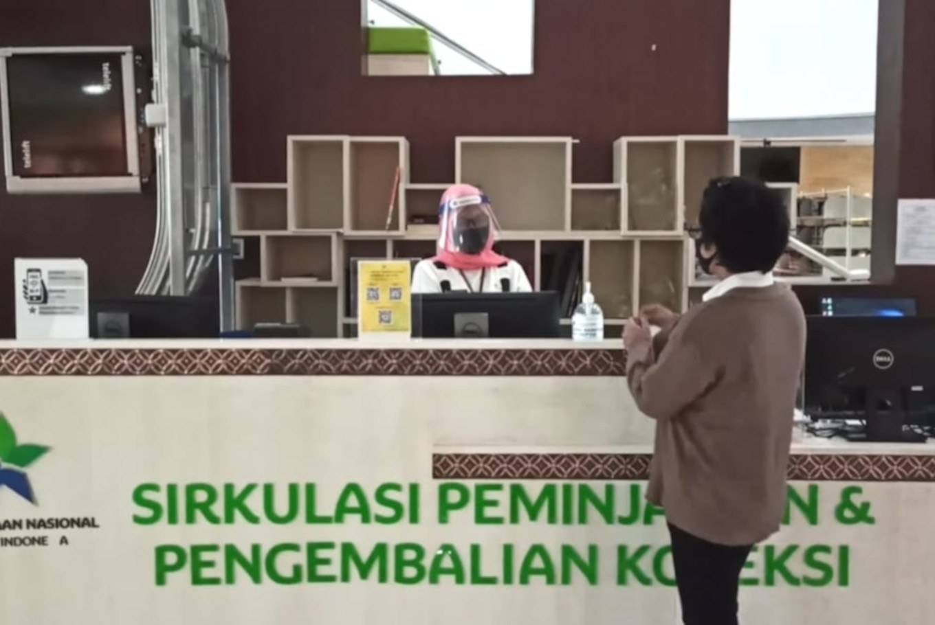 National Library of Indonesia reopens with new health protocols