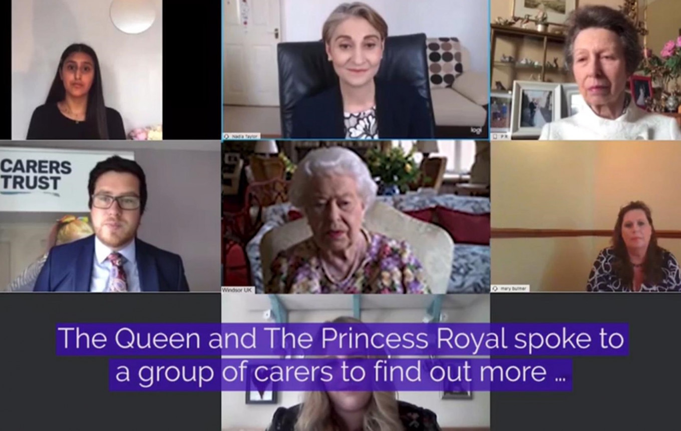 Queen Elizabeth II Makes History With First Official Video Call