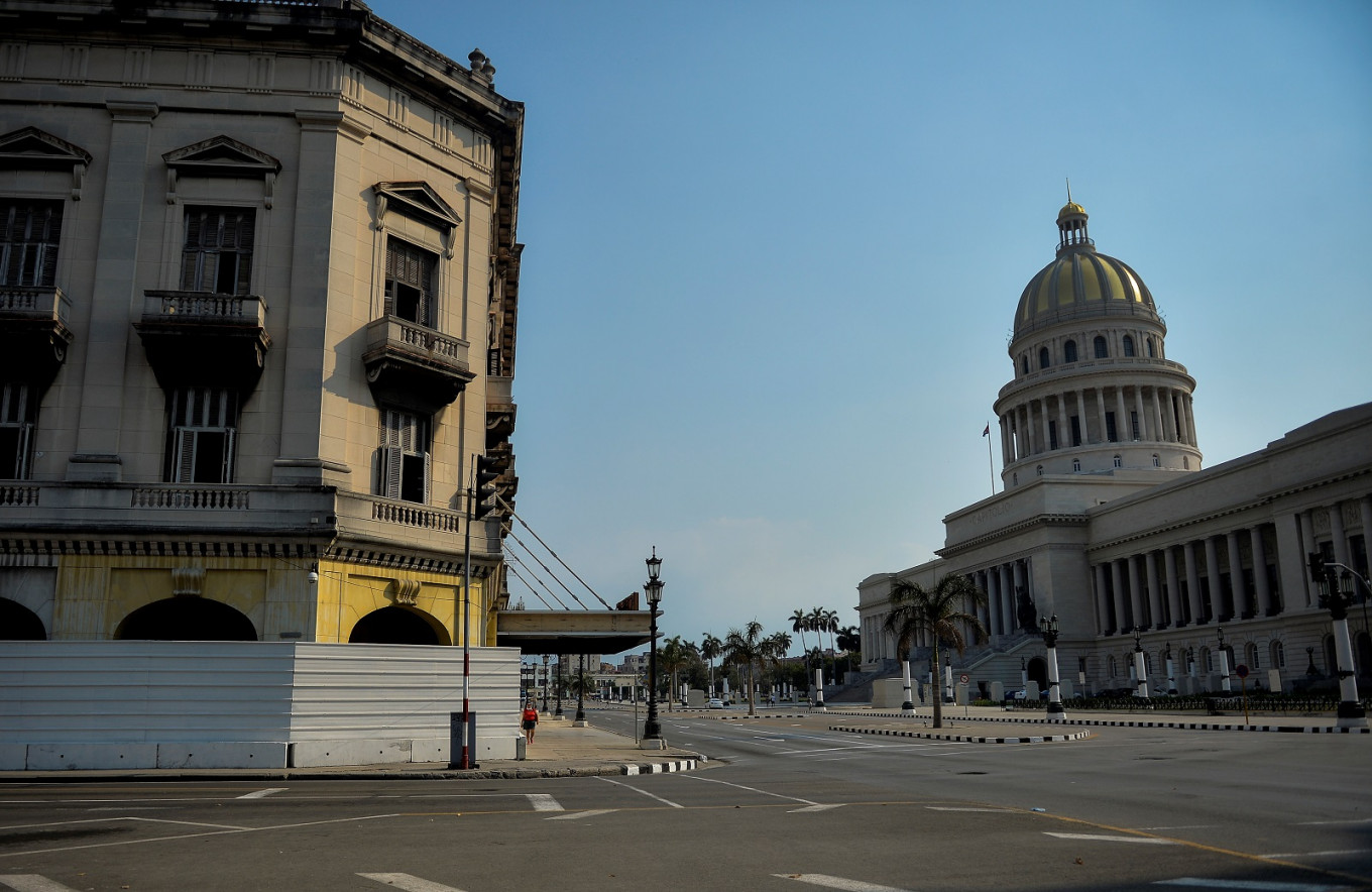 Havana stirs to life without tourists and amid scarcity