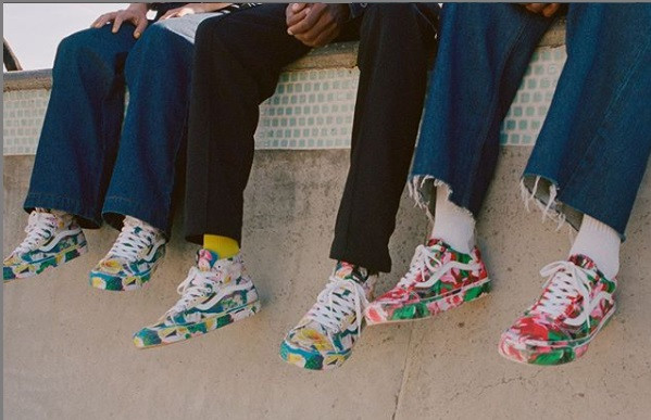 Floral prints make a comeback with Kenzo and Vans