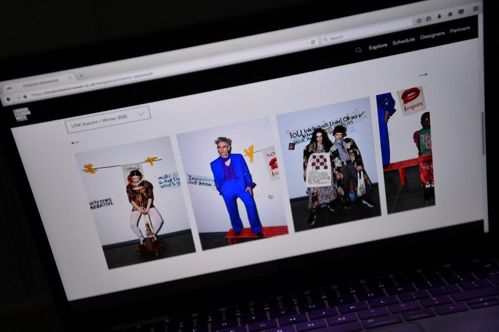 Virus Hit London Fashion Week Opens Without Catwalks Lifestyle The Jakarta Post