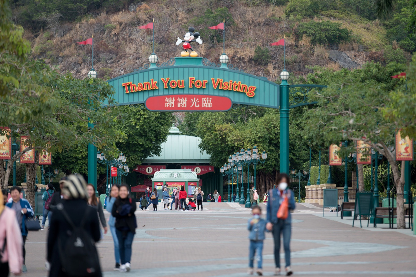Hong Kong government ends Disney's option for expanding theme park