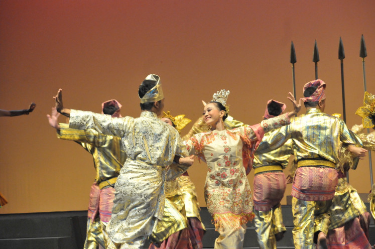 Ending with dance: While filled with political humor like other Indonesia Kaya productions, the play also highlights forms of cultural expression like dance and music.