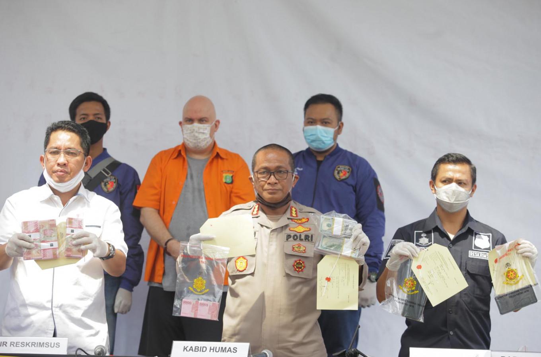 American fugitive arrested in Jakarta a known pedophile: Jakarta Police