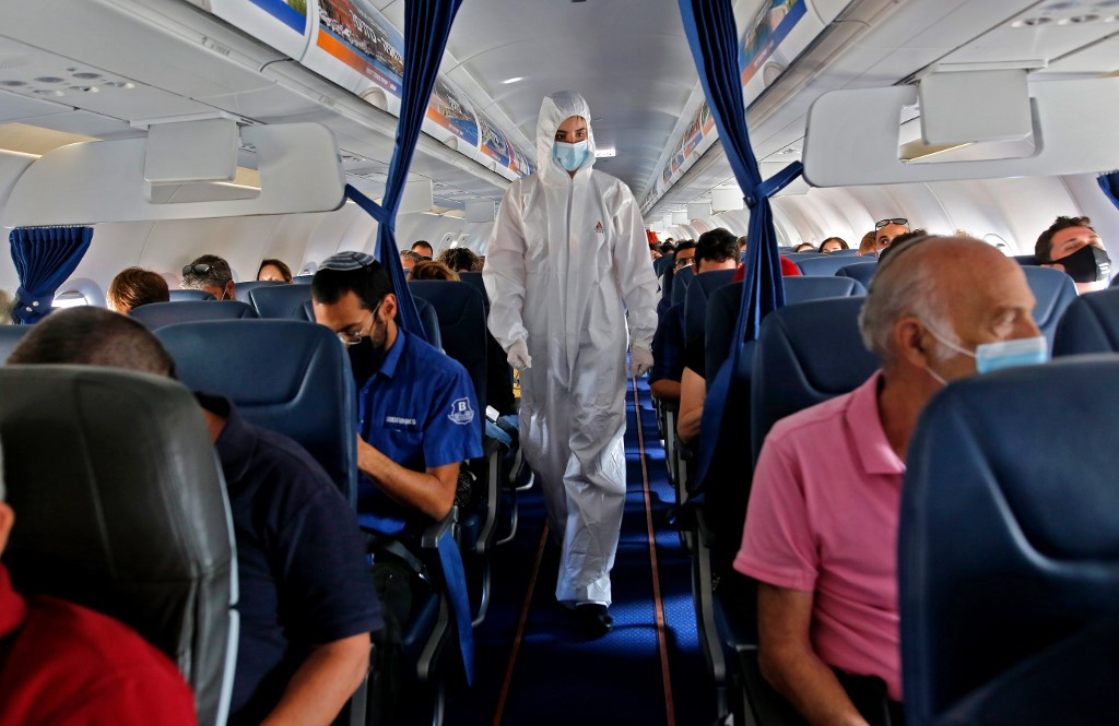 Airlines in the middle of coronavirus storm
