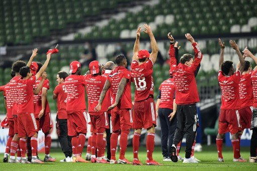 'Best in Germany': Bayern clinch eighth straight Bundesliga title