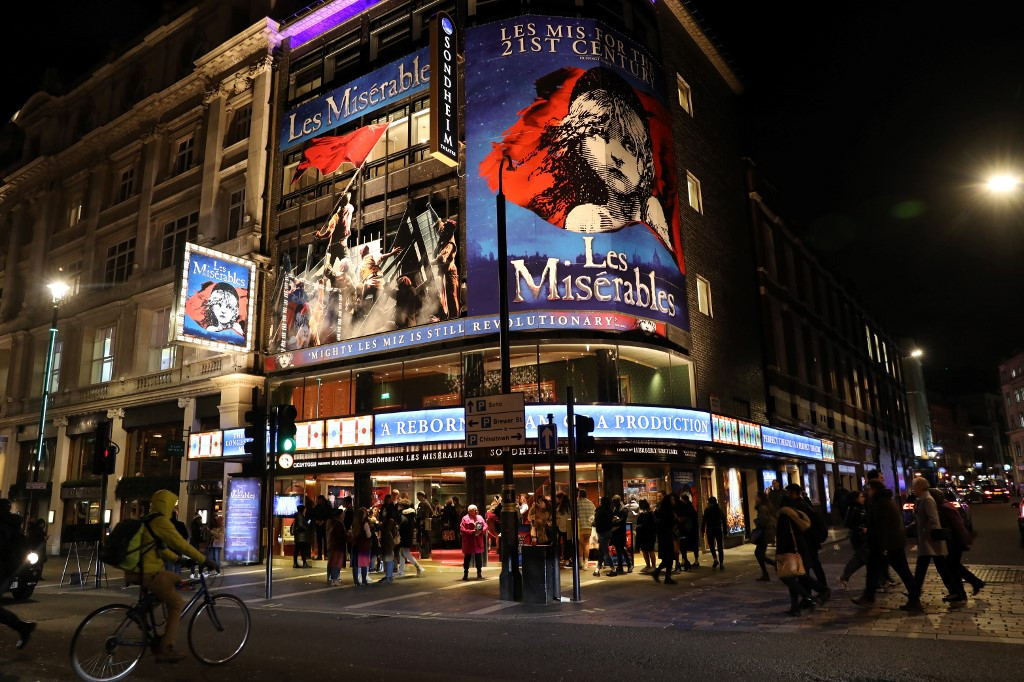 The next stage: UK theaters adapt to social distancing