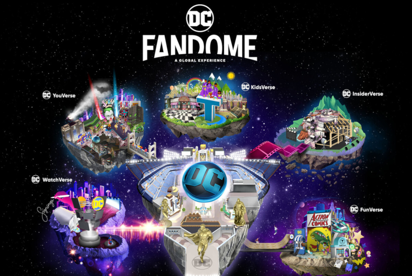 Virtual comic event DC FanDome releases teaser trailer