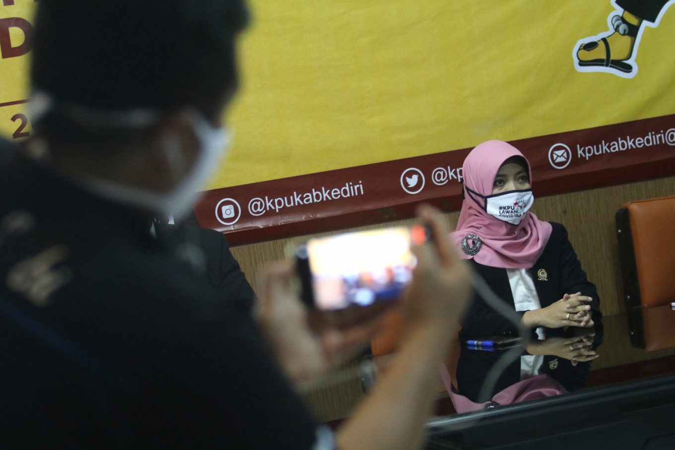 One political dynasty makes way for another as Kediri prepares to vote