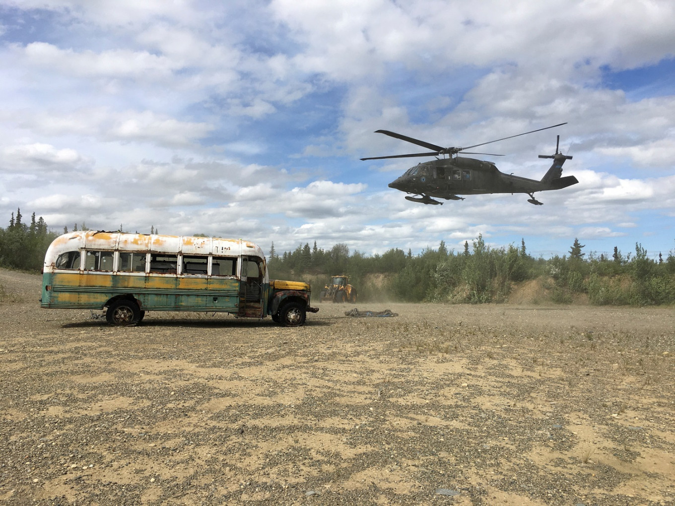 Famous bus from Into the Wild movie removed from Alaska wilderness