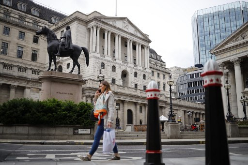 BoE sees less severe UK recession, leaves rate on hold