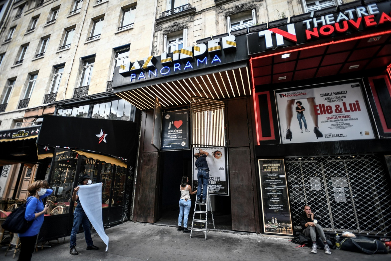 France shakes off its virus blues as cinemas, casinos set to open