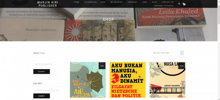 Changing course: Independent publisher Marjin Kiri has published more new titles to bring in buyers.