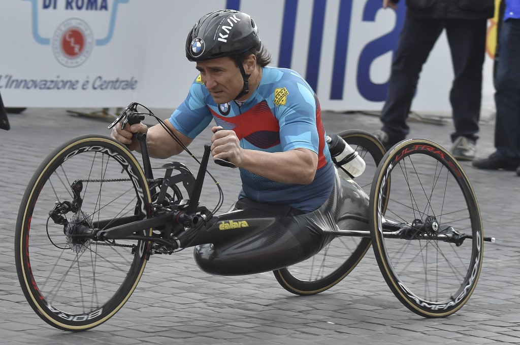 'Positive sign' as Alex Zanardi remains stable after handbike crash