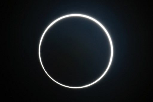 'Ring of fire' solar eclipse thrills skywatchers on longest day