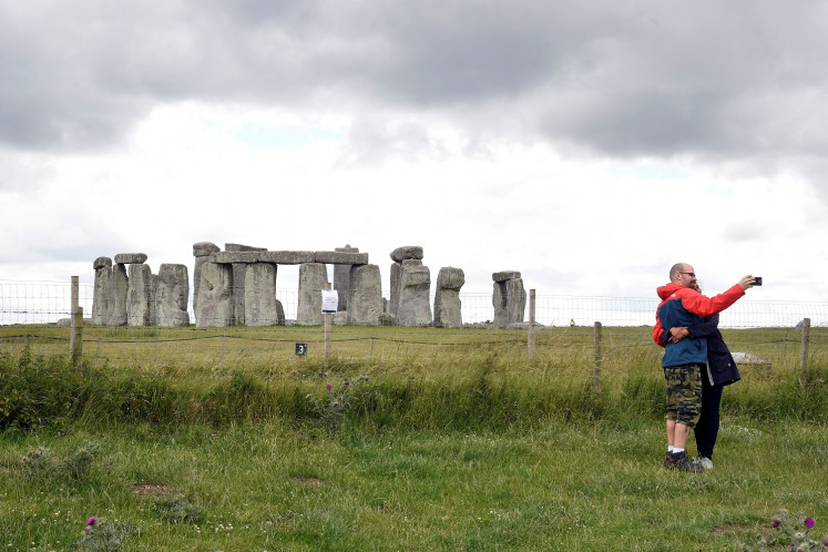 Stonehenge likely made with stones from older monument: study