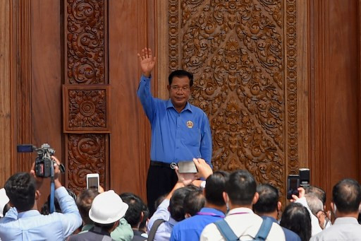 Cambodia PM says ruling party to dominate politics for up to 100 years