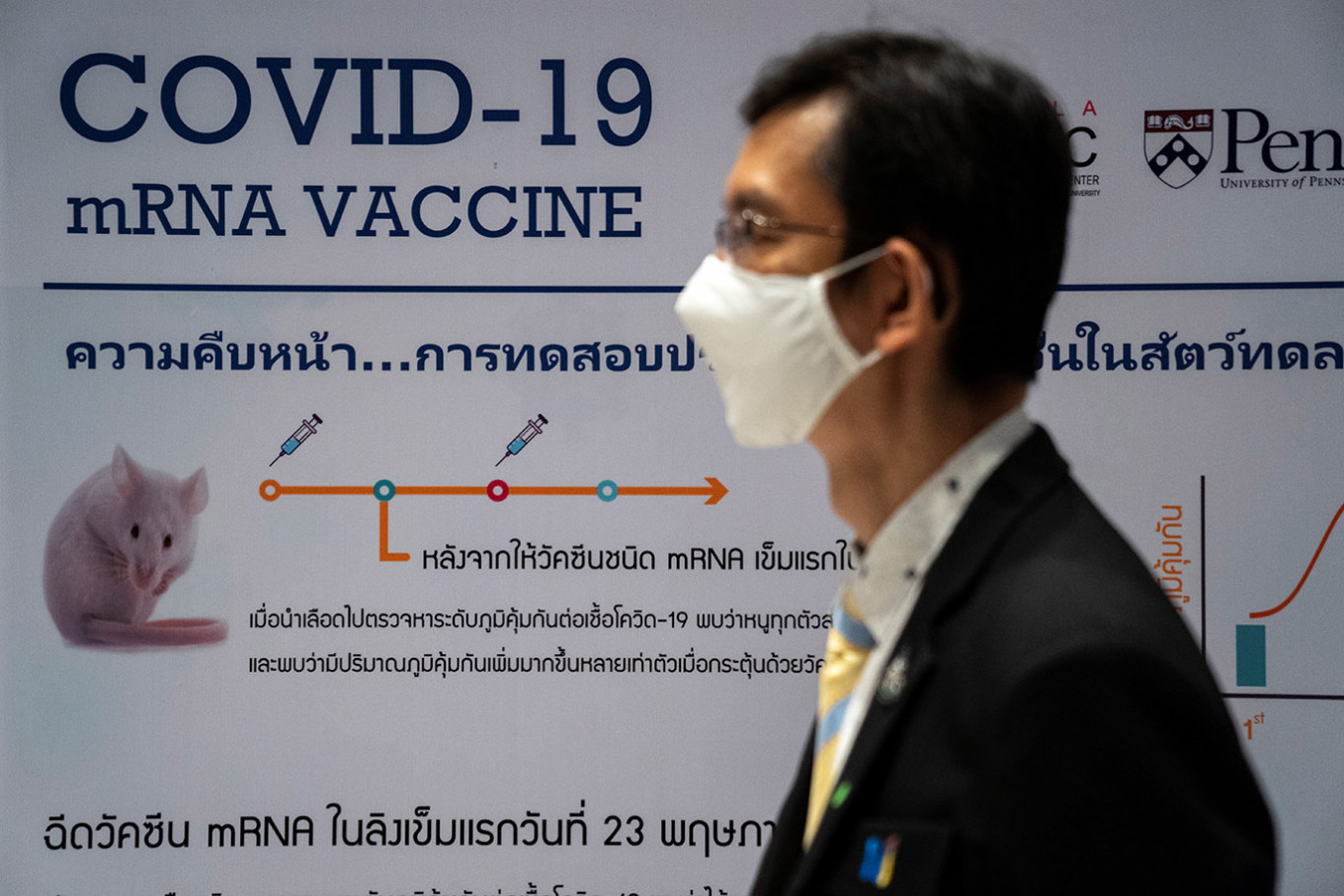 Thai trials of COVID-19 vaccine reach make-or-break stage