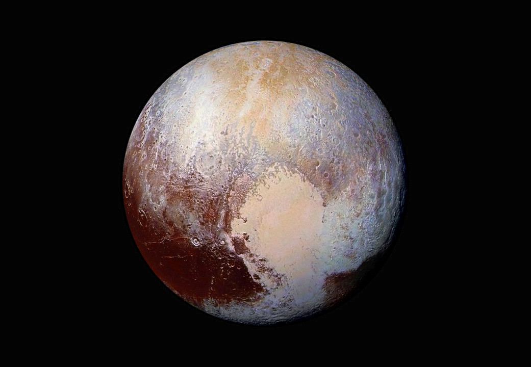 Frigid dwarf planet Pluto may have started out its life as a hothead