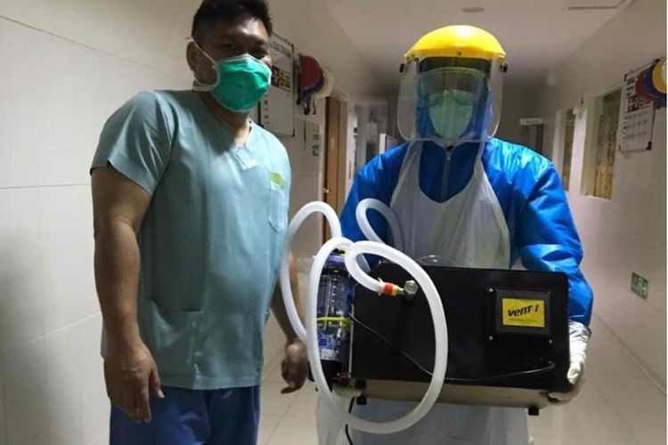 ITB-led team rolls out free distribution of Vent-I ventilators to COVID-19 hospitals