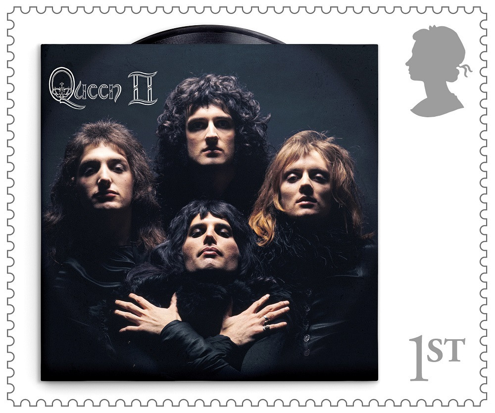 Rock band Queen get postage stamp of approval