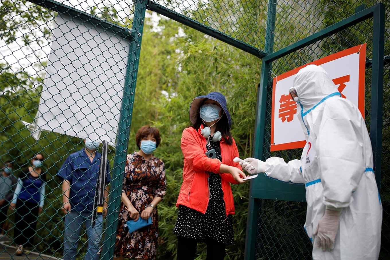 Fall in coronavirus cases in China amid fears over second surge