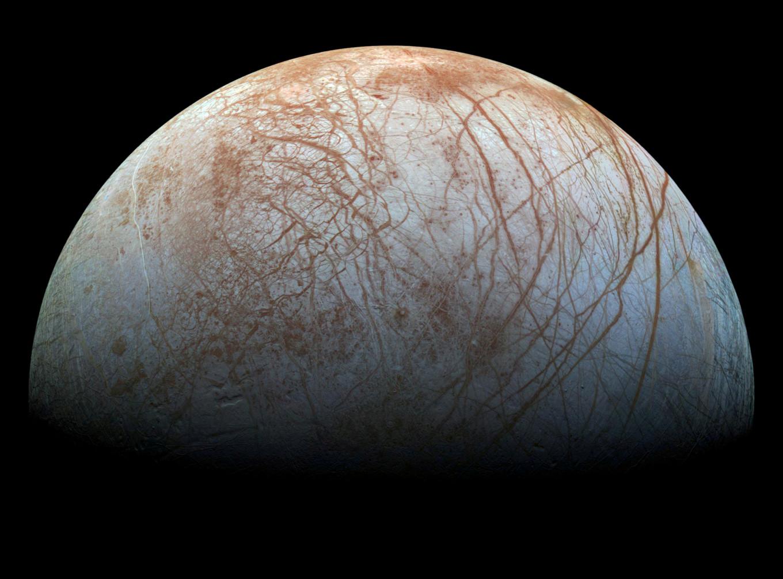 Subsurfaceocean on Jupiter's moon Europa deemed potentially 'habitable'