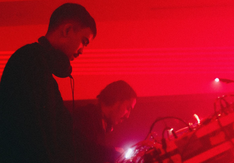 Electronic duo: Random Brothers by Blood experiments with audio and visual data, turning them into tunes.