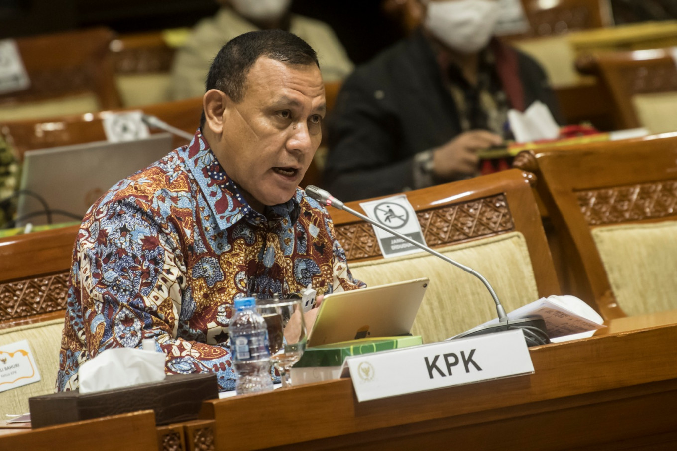 Supervisory council questions KPK chairman over alleged ethics violation