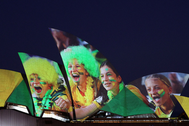 Celebrations Down Under after successful World Cup bid