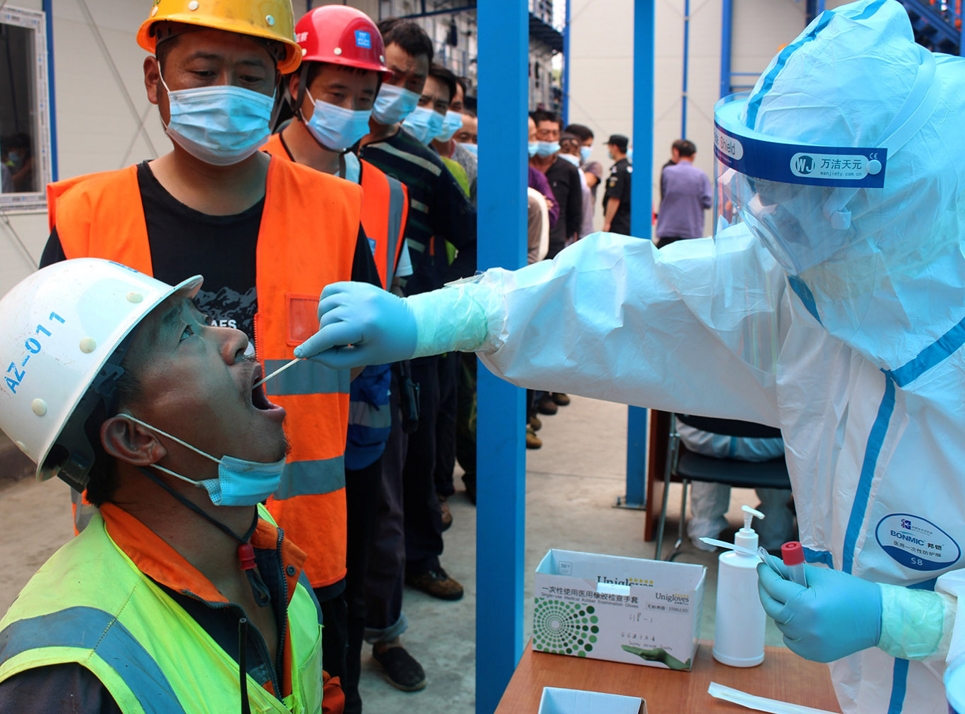 Beijing ramps up testing capacity, reaching a third of city's population so far