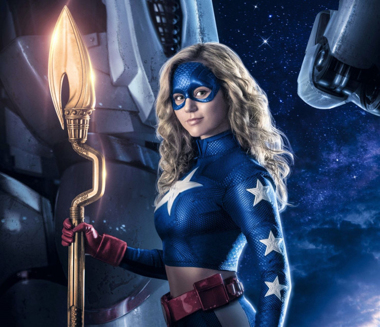 Celestial figure: 'Stargirl' stars Brec Bassinger in the lead role of Courtney Whitmore, a high school student who discovers the powerful Cosmic Staff and takes on the mantle of Stargirl.