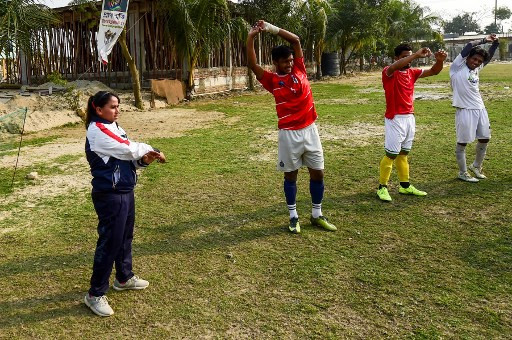Meet Bangladesh's ground-breaking female coach who's 'married to football'