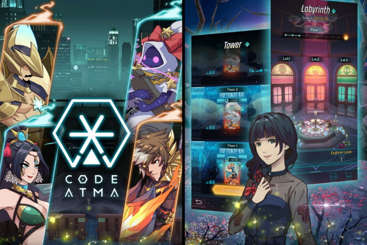 Narrated in Indonesian, 'Code Atma' invites users to solve mysterious cases and prepare strategies for a battle.