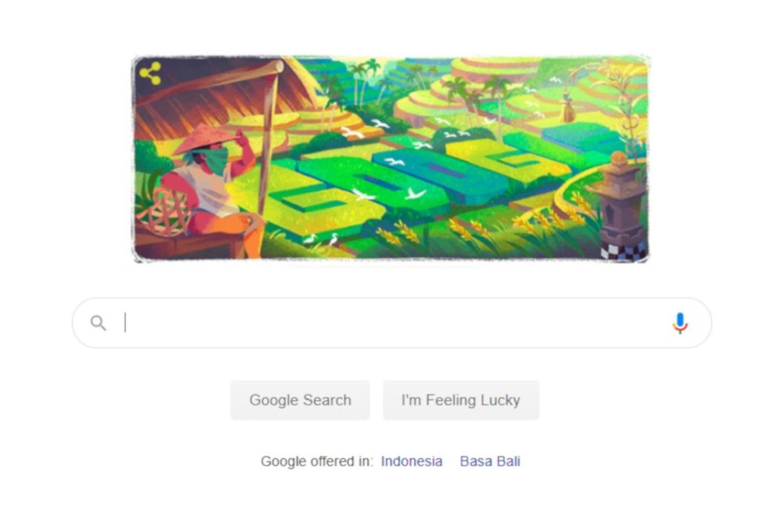 Google Doodle celebrates traditional Balinese irrigation system 'subak'