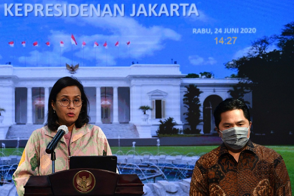 Administrative issues hamper COVID-19 budget disbursement: Sri Mulyani