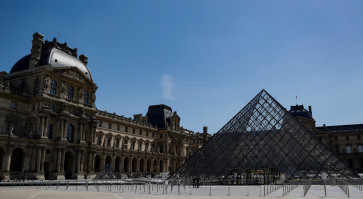 Paris' Louvre museum prepares to reopen in July