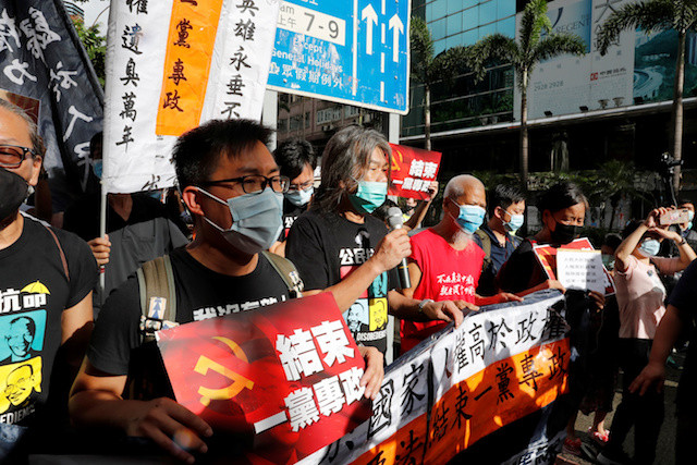 Hong Kong activists discuss 'parliament-in-exile' after China crackdown