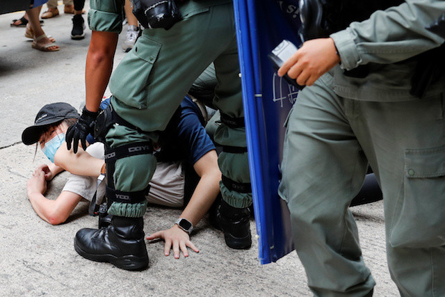 Hong Kong's new national security law takes effect on anniversary of handover