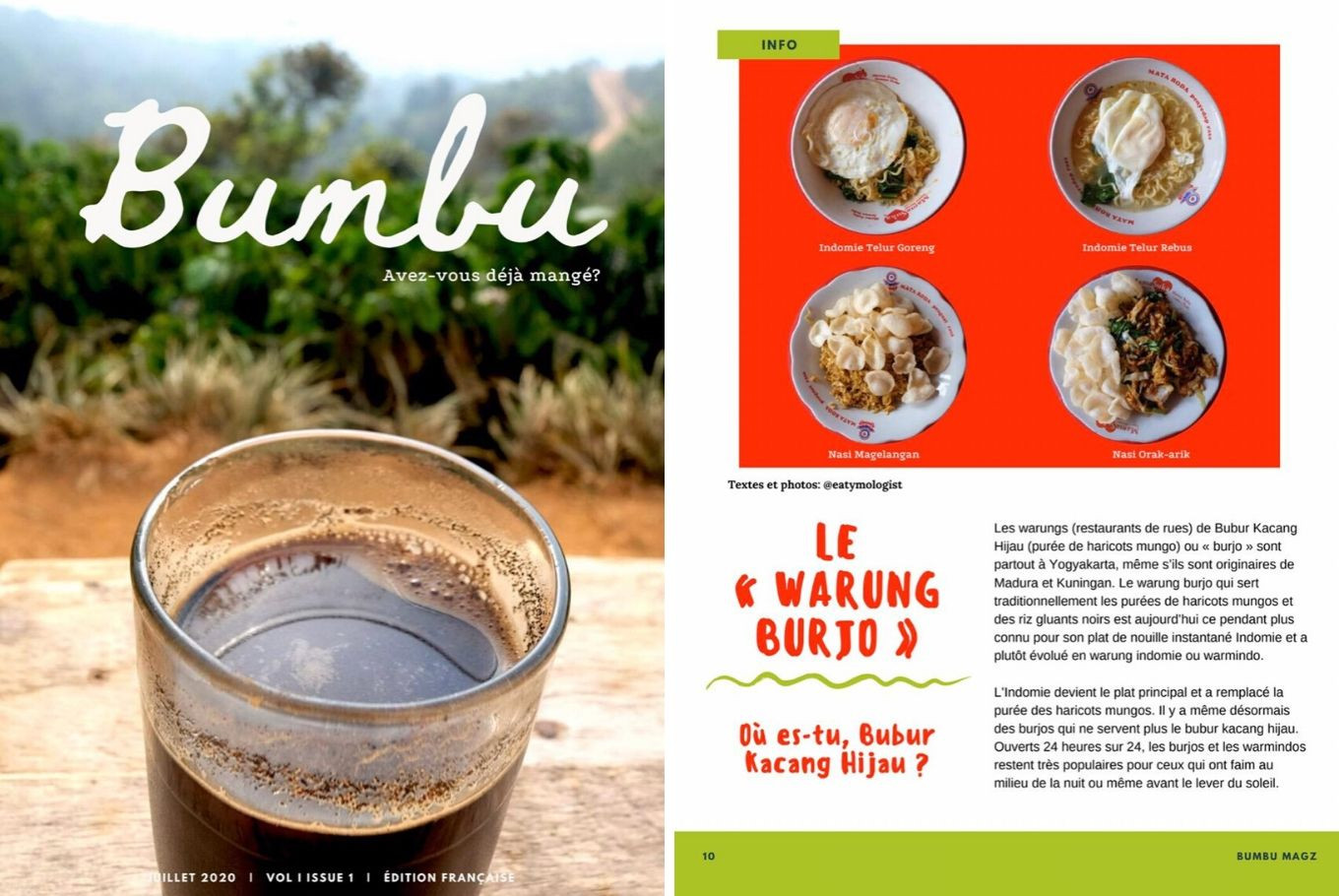 'Bumbu': First Indonesian culinary e-magazine published in French