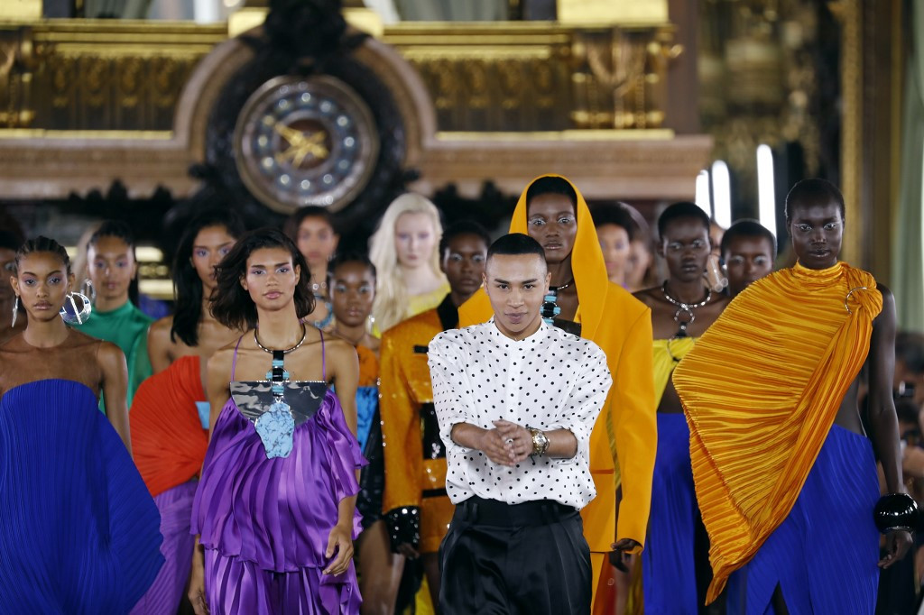 Haute couture: Balmain to break new ground with performance on the Seine