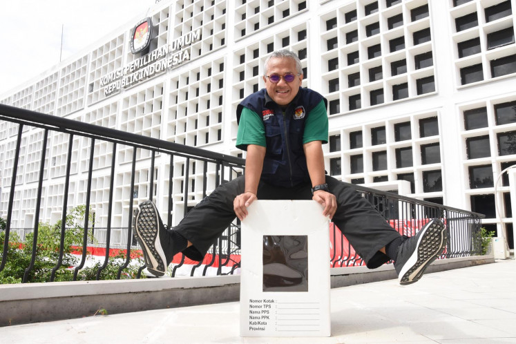 KPU chairman Arief Budiman tests positive for COVID-19
