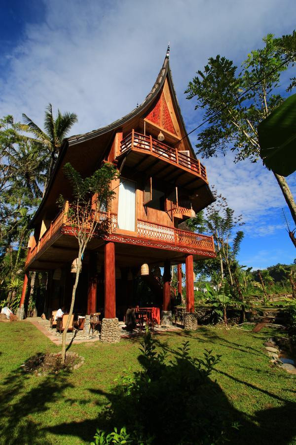 Padi Ecolodge in Bukittinggi, West Sumatra.