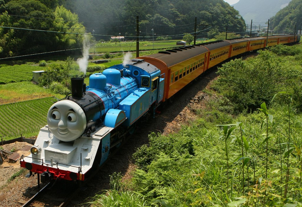 Thomas the Tank Engine comes to life in Japan