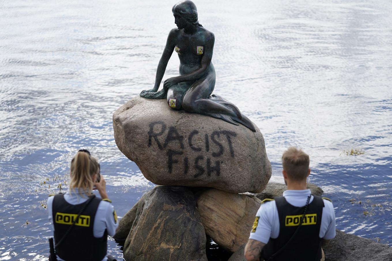 Denmark's Little Mermaid vandalized