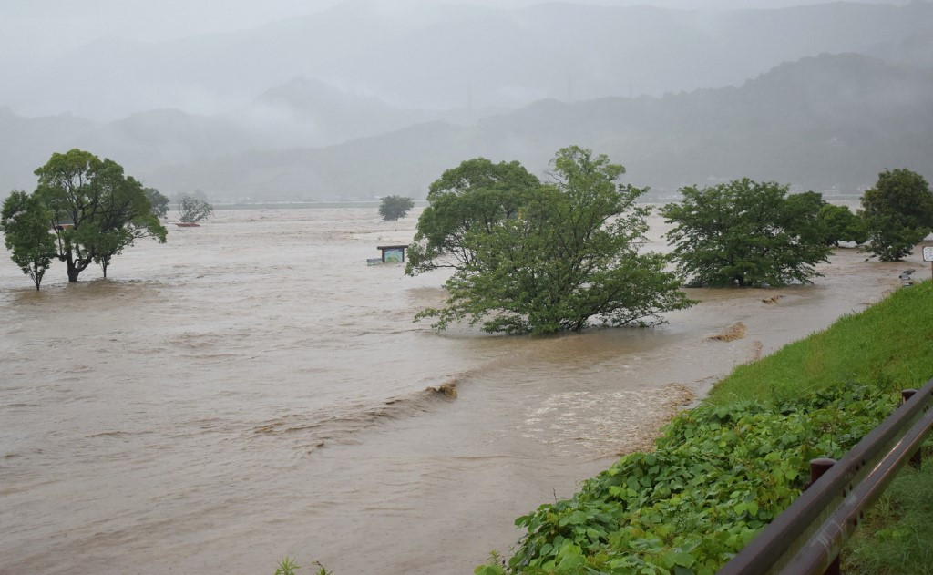 12 feared dead and 13 missing as torrential rain lashes western Japan